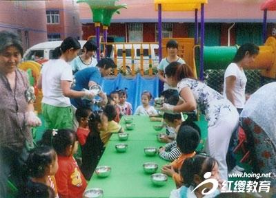 郑州金水区红缨连锁幼儿园家长工作总结展示